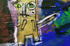 moonwalking cat
